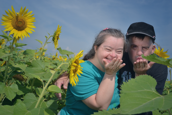 Safety Net Program - couple with Down Syndrome